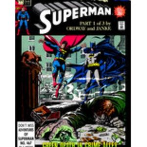 Superman By DC #44 Comic Book 1990 Part 1 Of 3